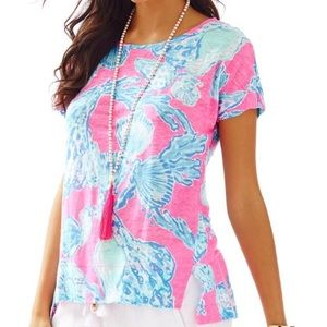 New Lilly Pulitzer Mikela top size small